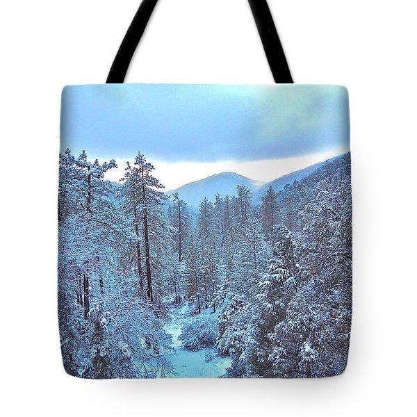 Snow Magic Tote Bag
