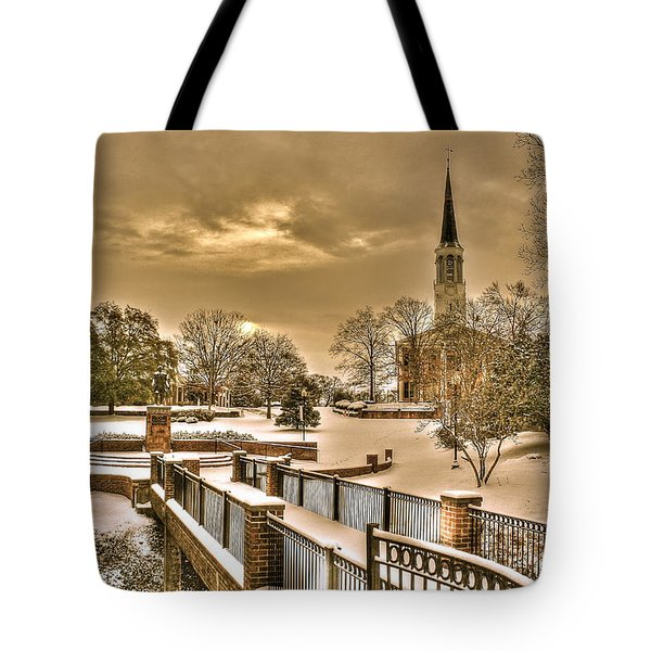 Fayetteville Nc 8 Tote Bag