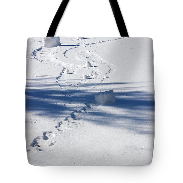 Snow Rollers Tote Bag