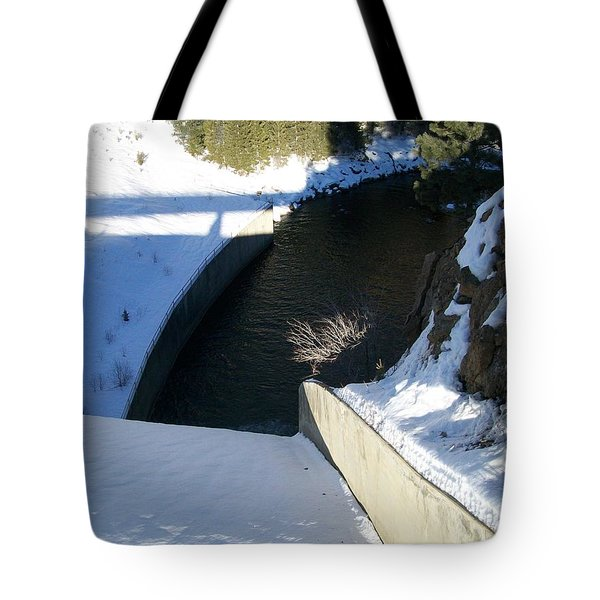 Snow Slide Tote Bag by Jewel Hengen