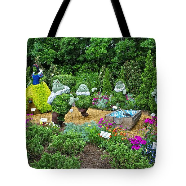 Snow White Tote Bag by Thomas Woolworth