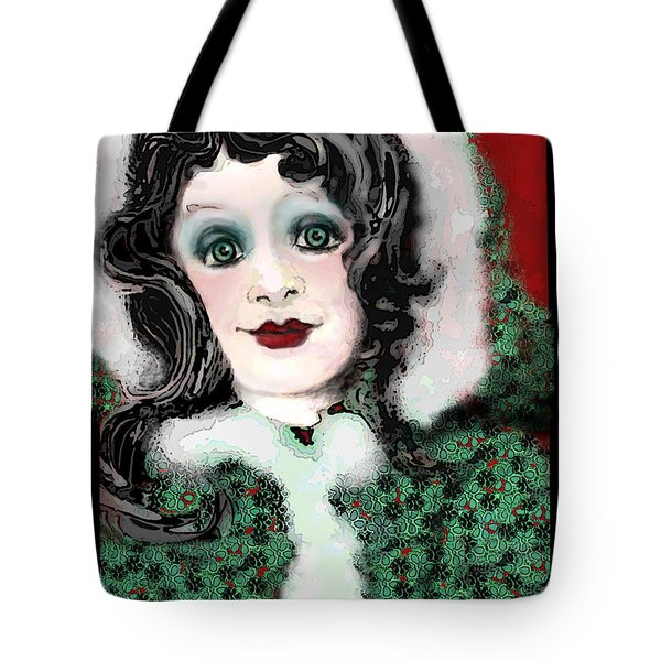 Snow White Winter Tote Bag