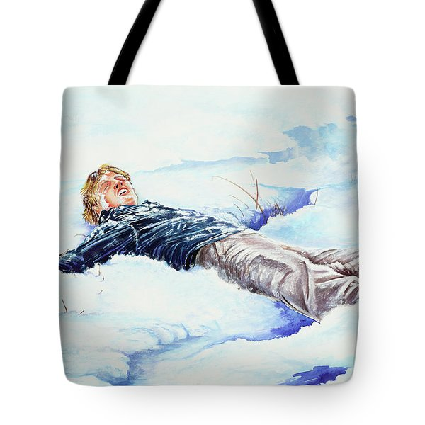 Snowball War Tote Bag