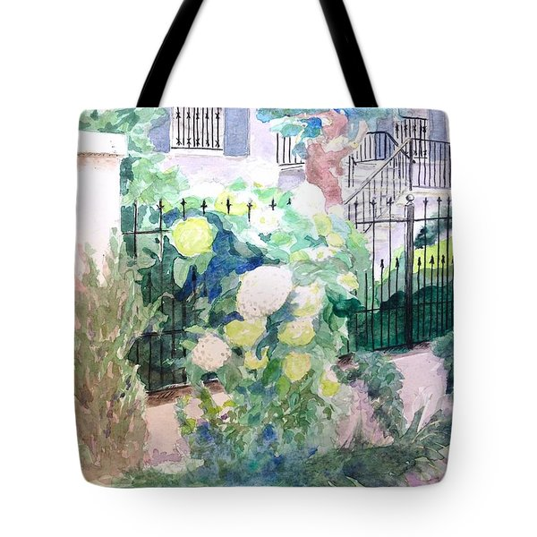 Snowballs In Summer Tote Bag