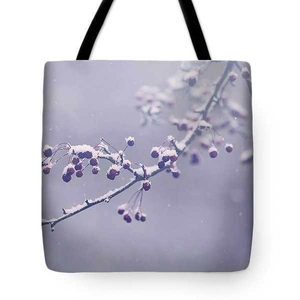 Snowberries Tote Bag