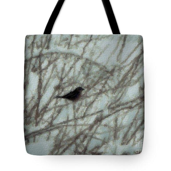 Snowbird Tote Bag