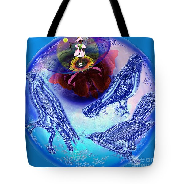 Snowbirds Flock To Eternal Spring Tote Bag