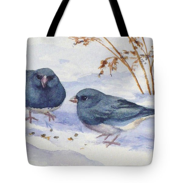 Snowbirds Tote Bag