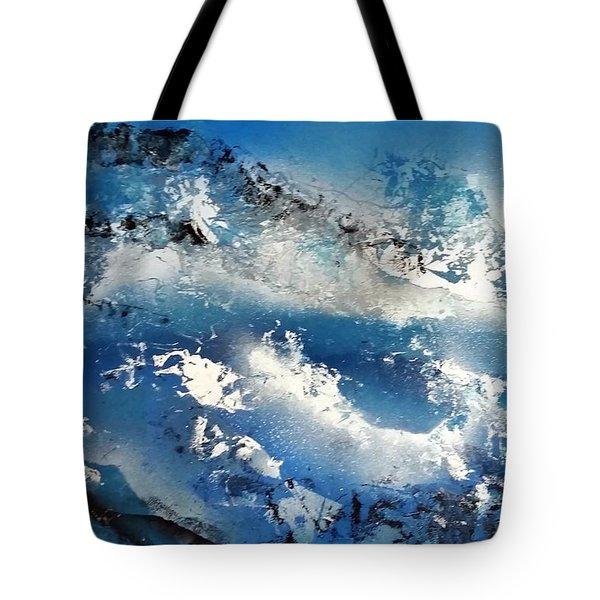 Snowcaps Tote Bag