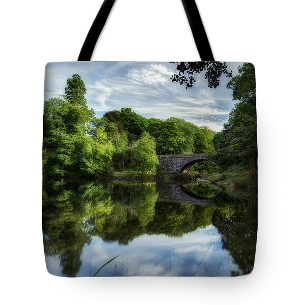 Snowdonia Summer On The River Tote Bag