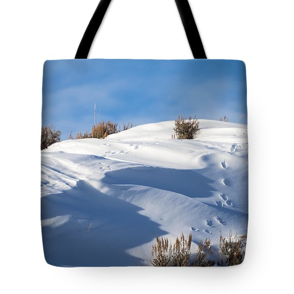 Snowdrifts Tote Bag