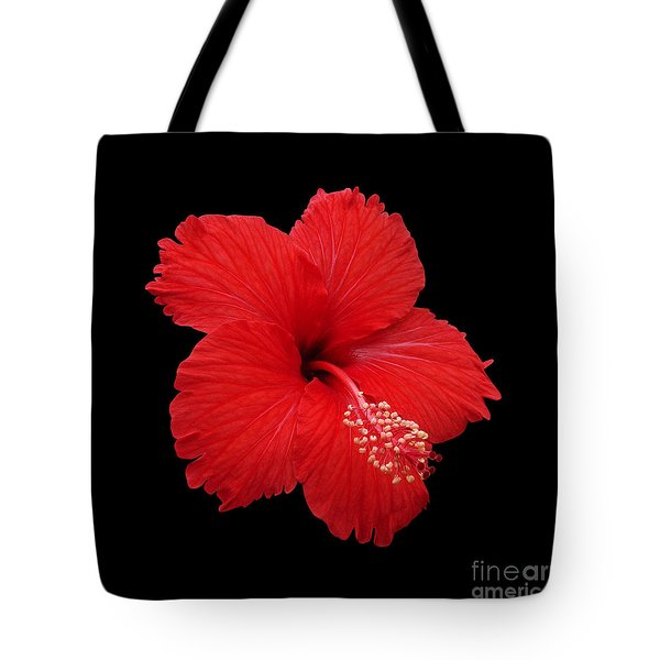 Tote Bag featuring the photograph Snowflake Hibiscus by Judy Whitton