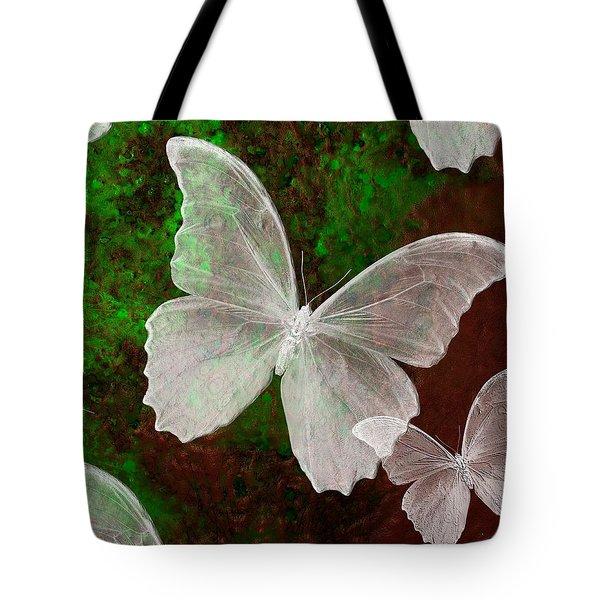 Snowflies Tote Bag