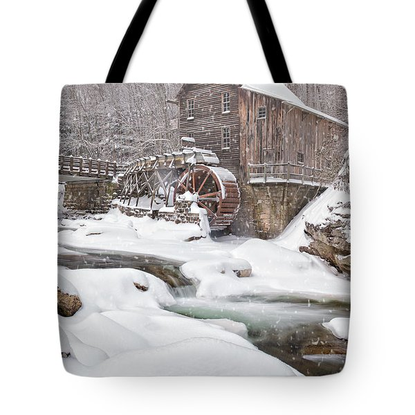 Snowglade Creek Grist Mill Tote Bag