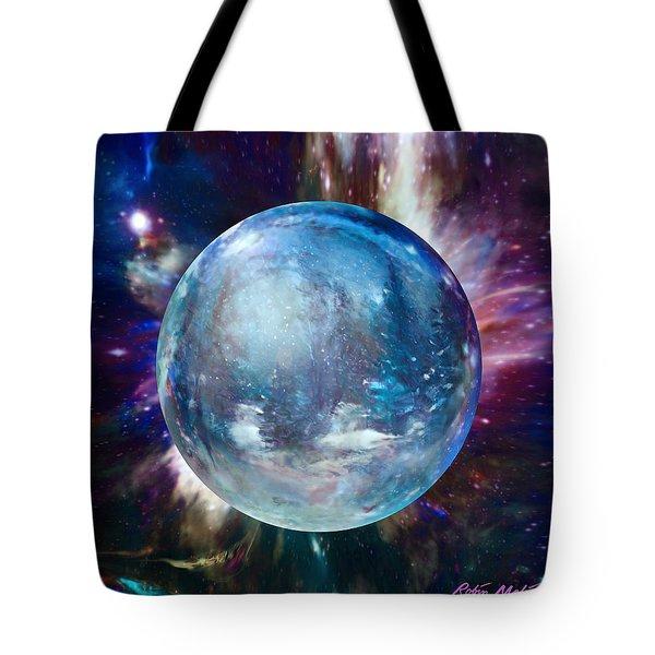 Snowglobular Tote Bag by Robin Moline