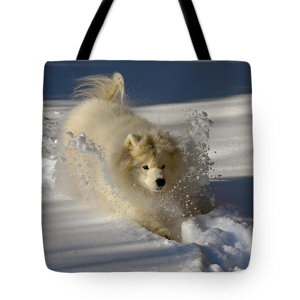 Snowplow Tote Bag