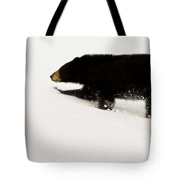 Snowy Bear Tote Bag