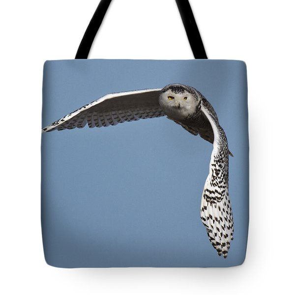 Snowy Tote Bag by Wes and Dotty Weber
