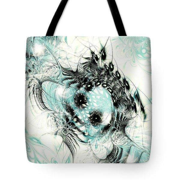 Snowy Owl Tote Bag by Anastasiya Malakhova