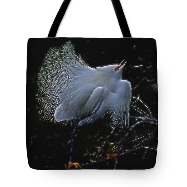 Wild Light 1 Tote Bag by William Horden
