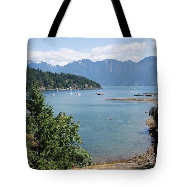 Snug Cove  Tote Bag