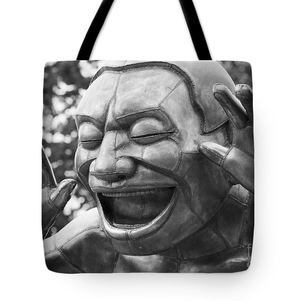 So Happy Tote Bag by Chris Dutton