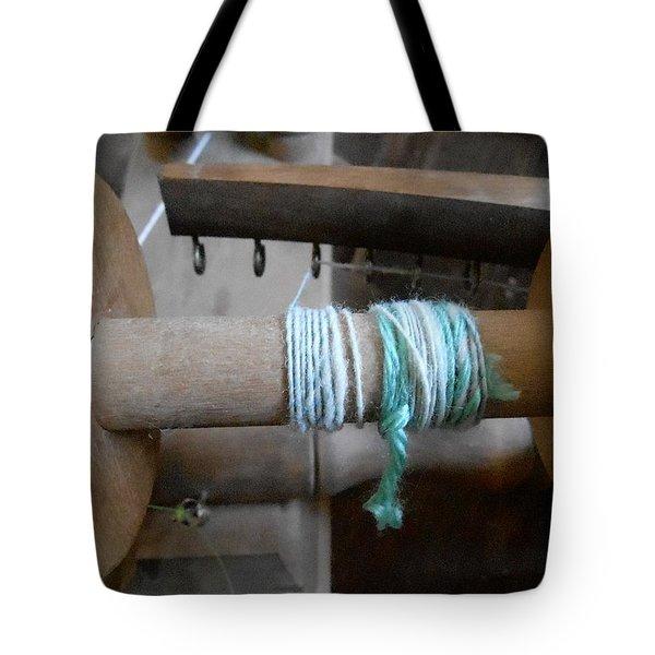 Tote Bag featuring the digital art So It Begins by Aliceann Carlton