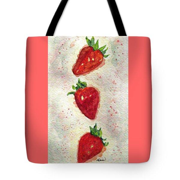 So Juicy Tote Bag by Angela Davies