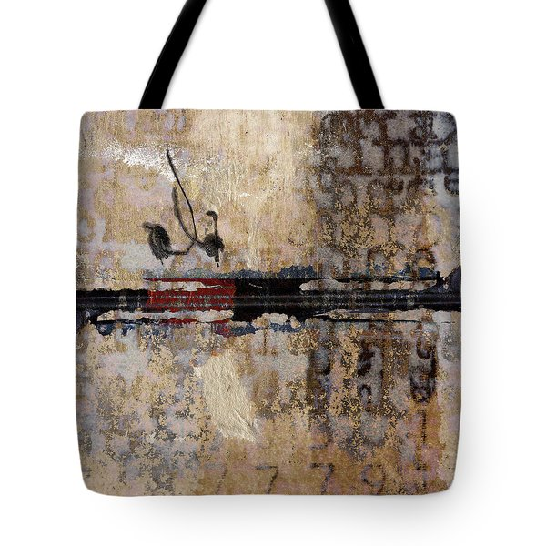 So Linear Square Tote Bag