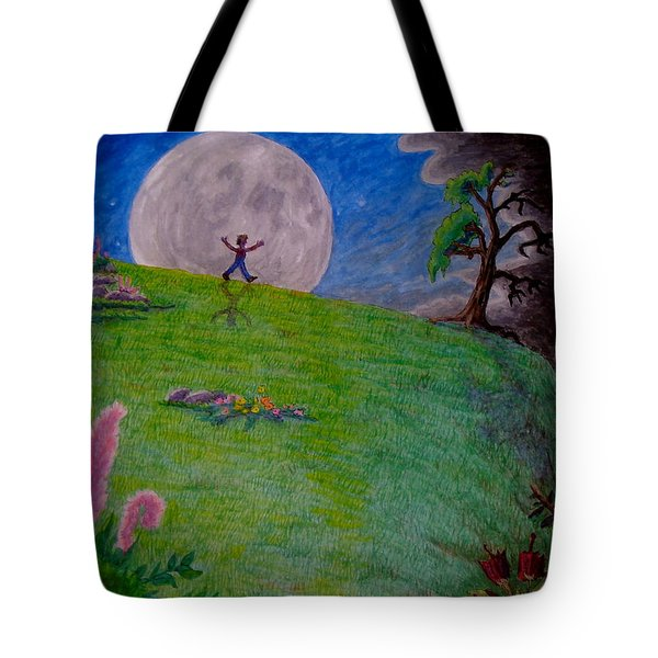 So Off I Went ... Tote Bag