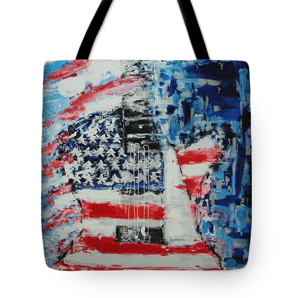 So Proudly We Hail Tote Bag by Dan Campbell