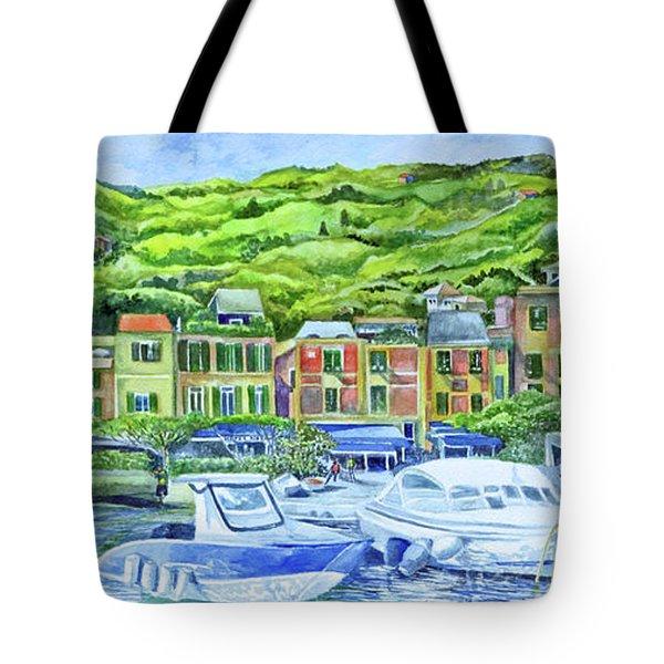 So This Is Portofino Tote Bag