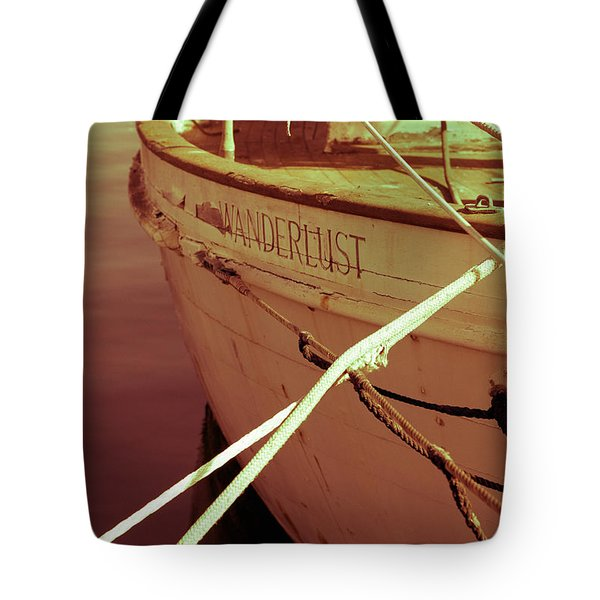 S.o. Wanderlust Altered Tote Bag by Amanda Barcon