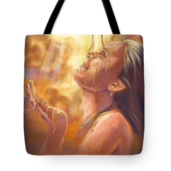 Soaking In Glory Tote Bag by Tamer and Cindy Elsharouni