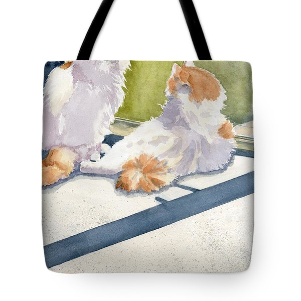 Soaking Up Some Rays Tote Bag