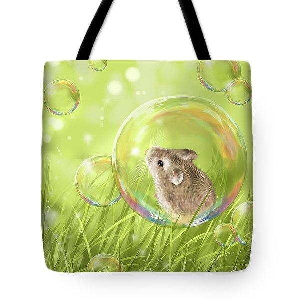 Soap Bubble Tote Bag