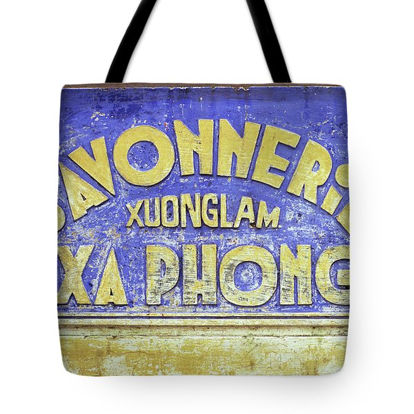 Soap Factory Sign Tote Bag