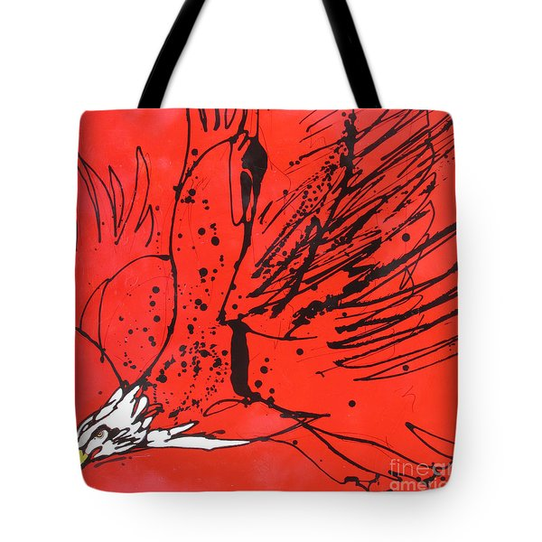 Tote Bag featuring the painting Soar by Nicole Gaitan