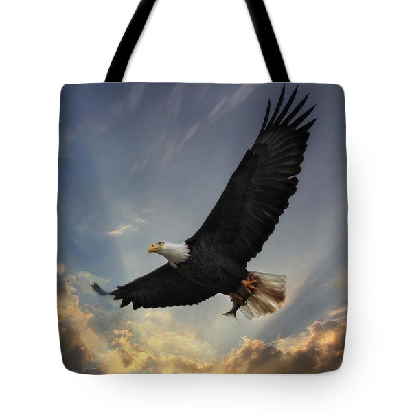 Soar To New Heights Tote Bag by Lori Deiter