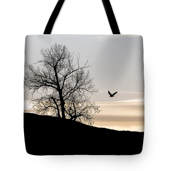 Soaring Eagle Tote Bag