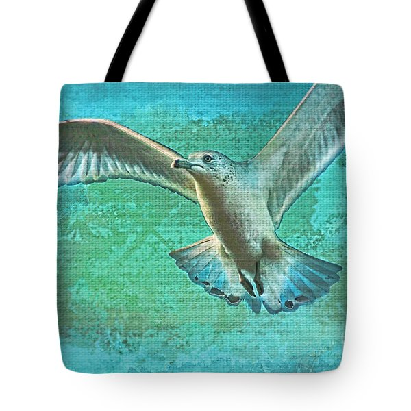 Soaring On Lifes Air Drafts Tote Bag by Deborah Benoit