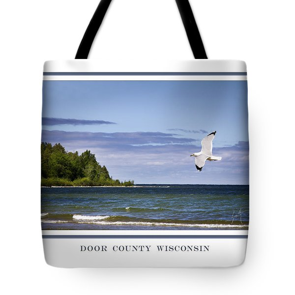 Soaring Over Door County Tote Bag