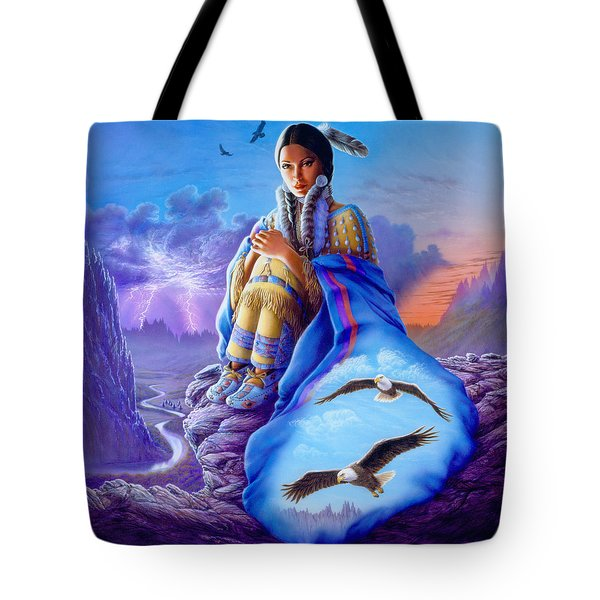 Soaring Spirit Tote Bag by Andrew Farley