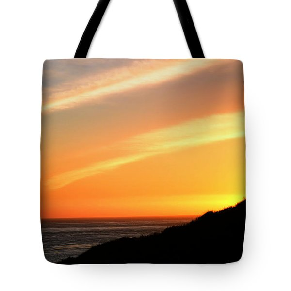 Tote Bag featuring the photograph Socal Coastal Sunset by Clayton Bruster