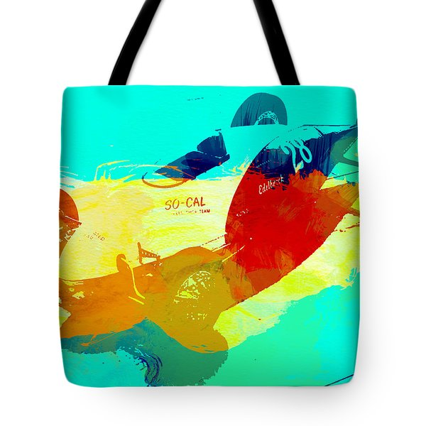 Socal Tote Bag by Naxart Studio