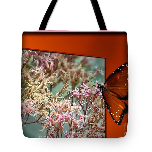 Social Butterfly 03 Tote Bag by Thomas Woolworth