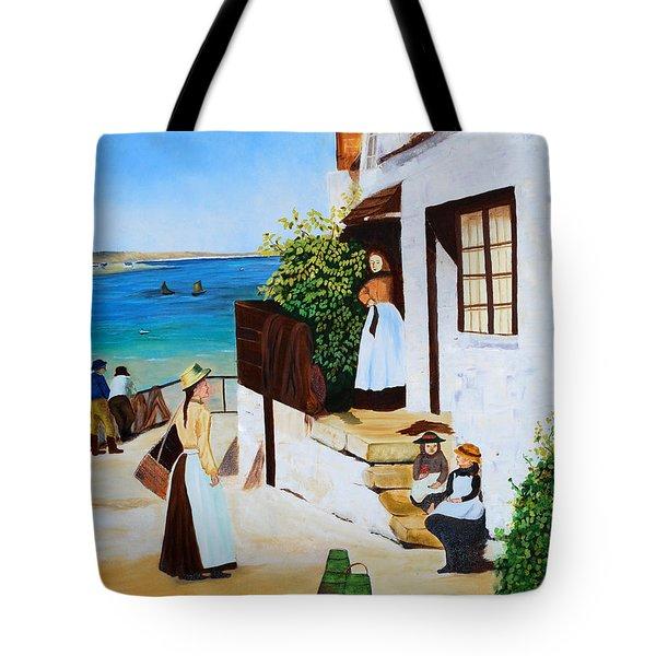 Social Harmony Tote Bag