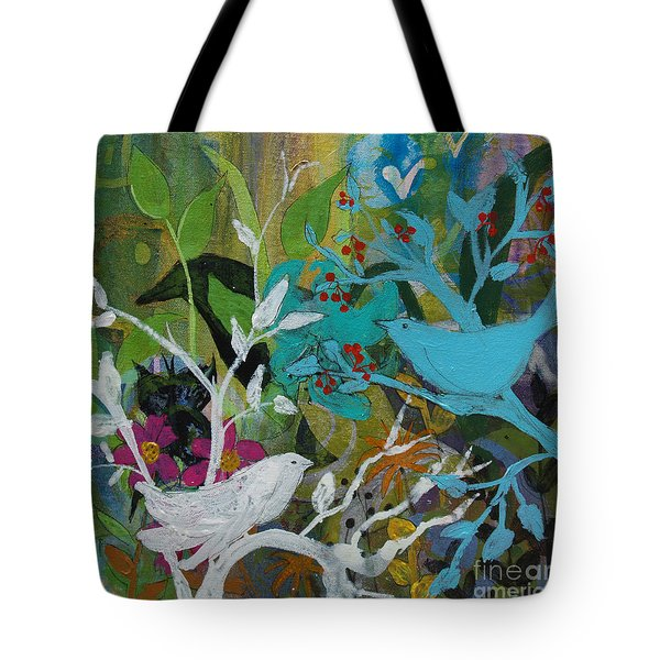 Social Network Tote Bag by Robin Maria Pedrero