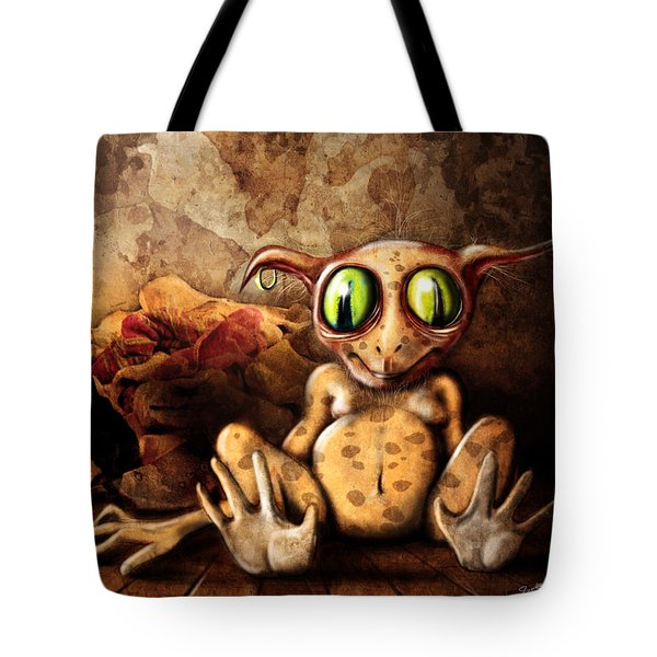 Sock Monster Tote Bag by Jeremy Martinson