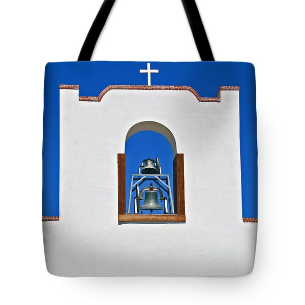 Socorro Mission La Purisma Tote Bag by Kathleen Scanlan